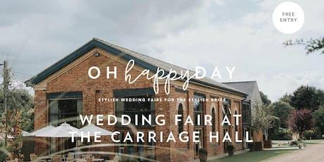 The Carriage Hall Wedding Fair tickets