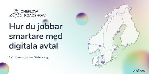 Oneflow Roadshow Göteborg: Hur du jobbar smartare med digitala avtal
