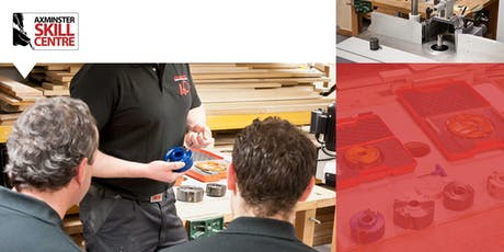 Spindle Moulding Training tickets