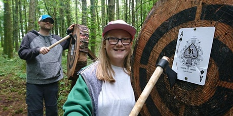 Axe throwing event (25 April 2020, 1.30 - 3.00pm, Bridgend) tickets