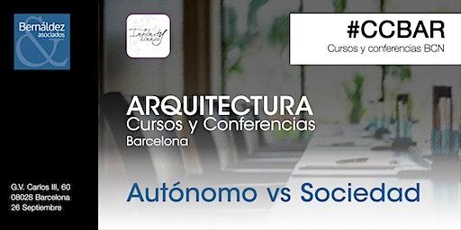 Cursos y Conferencias Barcelona #CCBAR Autónomo / Sociedad