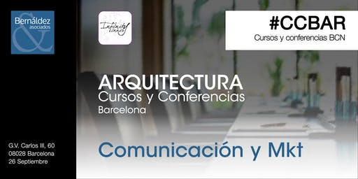 Cursos y Conferencias Barcelona #CCBAR - Marketing