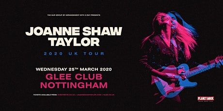 Joanne Shaw Taylor (Glee Club, Nottingham) tickets