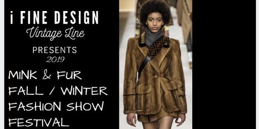 2019 iFine Design Vintage Line Fall/Winter Fashion Show Festival