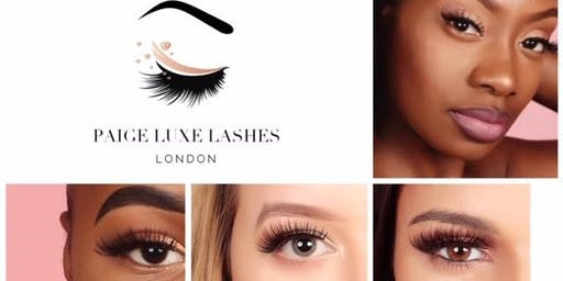 Paige's Luxe Lashes | Launch Event