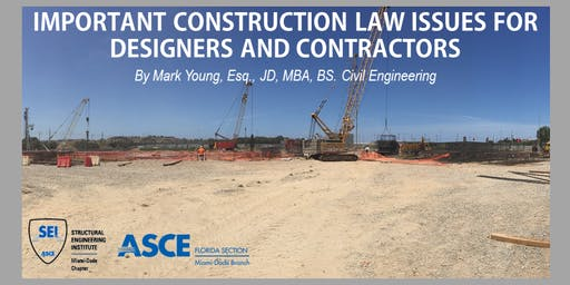 Construction Law Issues Luncheon | +1PDH | SEI ASCE