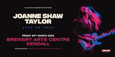 Joanne Shaw Taylor (Brewery Arts Centre, Kendal)