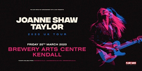 Joanne Shaw Taylor (Brewery Arts Centre, Kendal) tickets