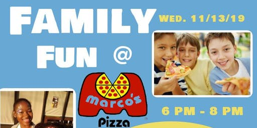Family Fun in Hapeville at Marco's Pizza