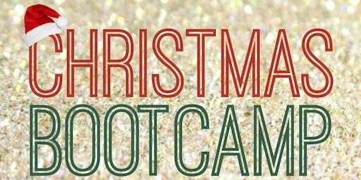 Christmas bootcamp