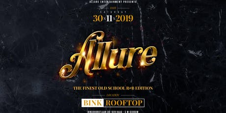 Allure - the finest old school R&B edition tickets
