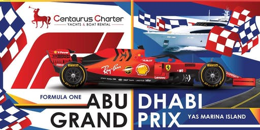 F1 GrandPrix 2019 on a Luxury Yacht Abu Dhabi