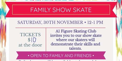 A1 Figure Skating Club Show Skate