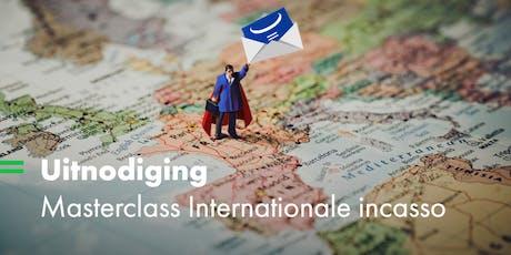 Masterclass: Internationale Incasso tickets