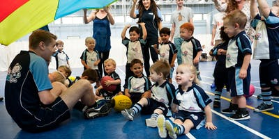 Rugbytots classes in Caerphilly