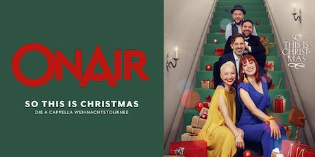 ONAIR: So This Is Christmas tickets