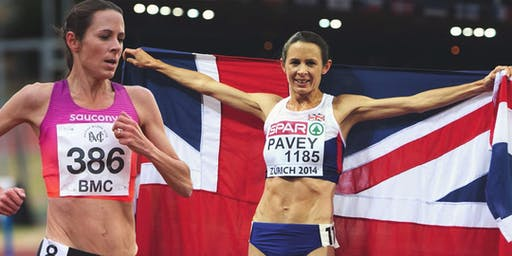 An evening with Jo Pavey
