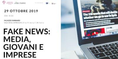 Fake News: media, giovani e imprese