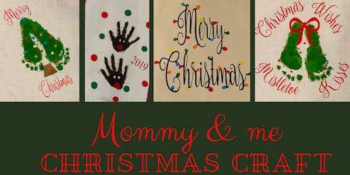 Mommy & Me Christmas Craft