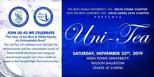 "Uni-Tea ""The Year of the Blue & White Family: An Unbreakable Bond"""