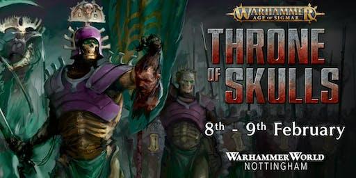 Warhammer Age of Sigmar Throne of Skulls