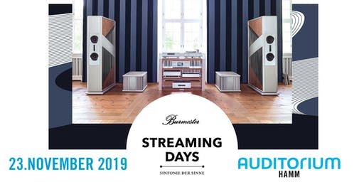 Burmester Streaming Days HAMM 2019