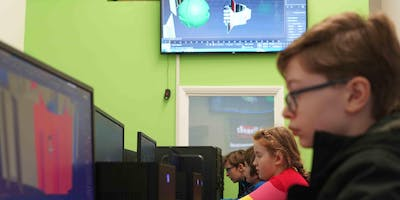 April Easter break Kids Coding Python Holiday Camp