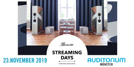 Burmester Streaming Days MÜNSTER 2019