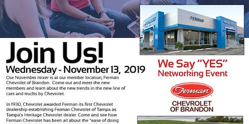 Ferman Chevrolet Tampa Networking Event