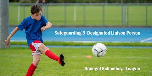 Safeguarding 3, Designated Liaison Person - 27th November