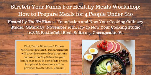 Stretch Your Funds Healthy Meals Workshop