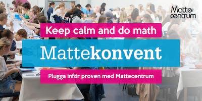 Mattekonvent i Lund HT 2019