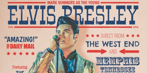Mark Summers As The Young  Elvis Presley -Solo Early Years Show