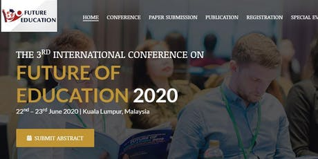 The 3rd International Conference on Future of Education 2020 tickets
