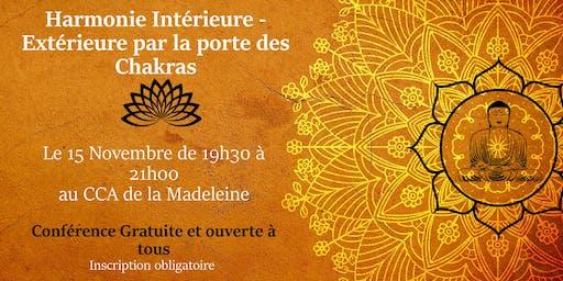 Conférence gratuite: A la découverte des chakras