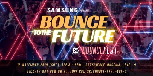 Samsung Bouncefest Vol. 3 - Bounce to the Future