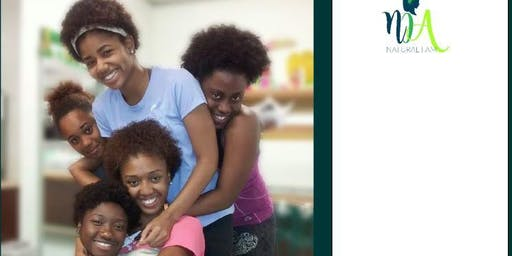 """NATURAL  I  AM""  PRESENTS ""EDUCATE,LEARN & SHARE /Afro Hair Workshop"