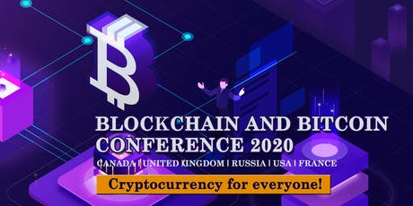 BLOCKCHAIN AND BITCOIN CONFERENCE tickets