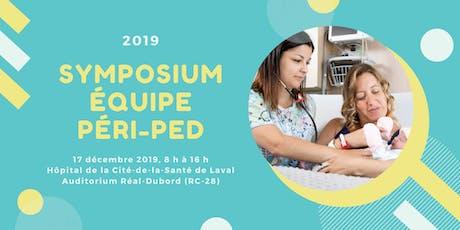 Symposium 2019 de l'équipe péri-ped billets