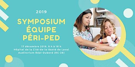 Symposium 2019 de l'équipe péri-ped tickets