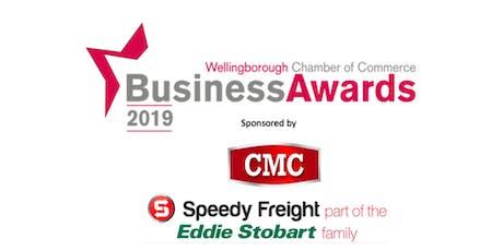 Wellingborough Chamber Business Awards Breakfast Ceremony tickets