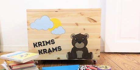 DIY-Familien-Workshop: Personalisierte Box für Groß und Klein Tickets