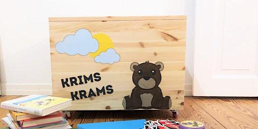 DIY-Familien-Workshop: Personalisierte Box für Groß und Klein