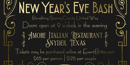 Cheers for Charity New Years Eve Bash