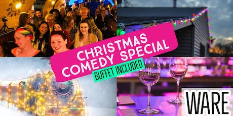 Ware's Big One - Christmas Comedy (+ Buffet)  tickets