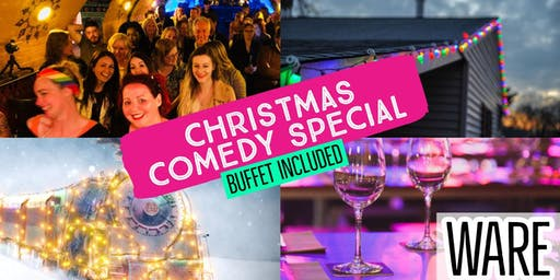 Ware's Big One - Christmas Comedy (+ Buffet)