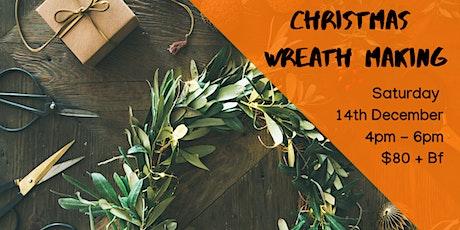 Christmas Wreaths! tickets