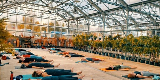 Yoga in the Greenhouse-SOLD OUT