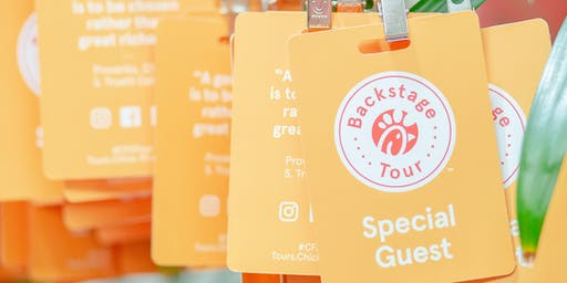 2019 Chick-fil-A Backstage Tour Georgia Resident Offer
