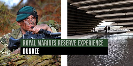 Royal Marines Reserve Experience event - Dundee